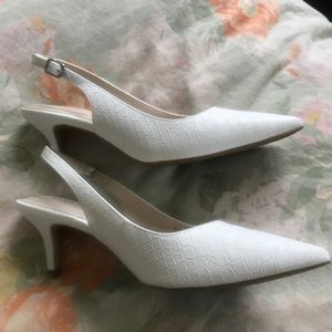 Alfani Shoes - Alfani Slingback Pumps